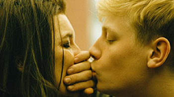 Still from Xavier Dolan Mommy movie