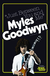 Myles Goodwyn Book Cover