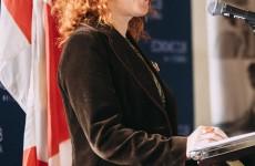 Miranda Mulholland addresses Economic Club of Canada