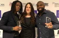 SOCAN Foundation sponsors Banner Year Award for Daniel Caesar and his managers/producers/co-writers