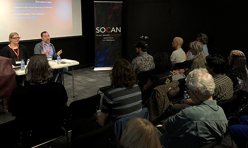 SOCAN Screen Composers Meeting, 2018, Vancouver