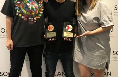 SOCAN presents two No. 1 Song Awards to Universal Music Publishing Canada