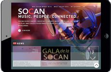 SOCAN launches redesigned website