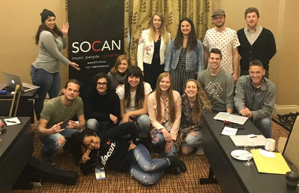 SOCAN Song House inspires songwriters during BreakOut West 2018