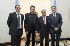 SOCAN CEO Eric Baptiste meets with UN Secretary-General