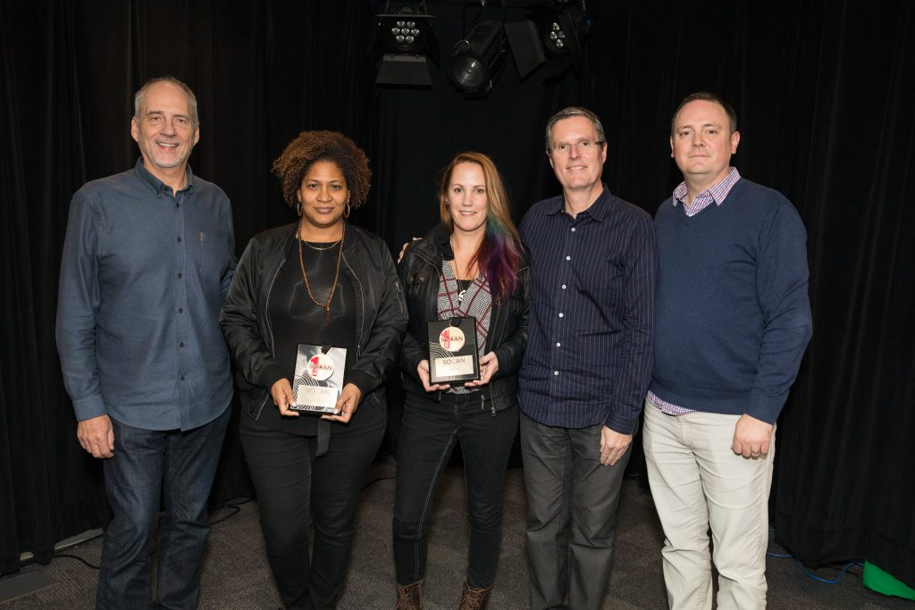 SOCAN, Michael McCarty, Vivian Barclay, Warner Chappell Music Canada, Amy Eligh, Arts & Craft,; Eric Baptiste, Daryl Hamilton