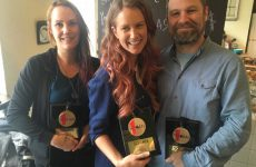 """SOCAN surprises Megan Bonnell with No. 1 Song Award for """"Separate Rooms"""""""