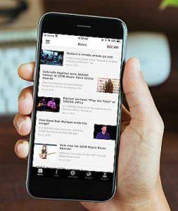SOCAN mobile app