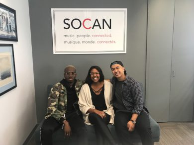"SOCAN re-launches ""Song Camp Mondays"" in Toronto, Vancouver, Los"