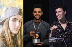 The Weeknd, Shawn Mendes, Bülow, Loud Luxury lead 2019 JUNO Award nominations