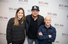 Tebey signs with SOCAN for worldwide royalty collection