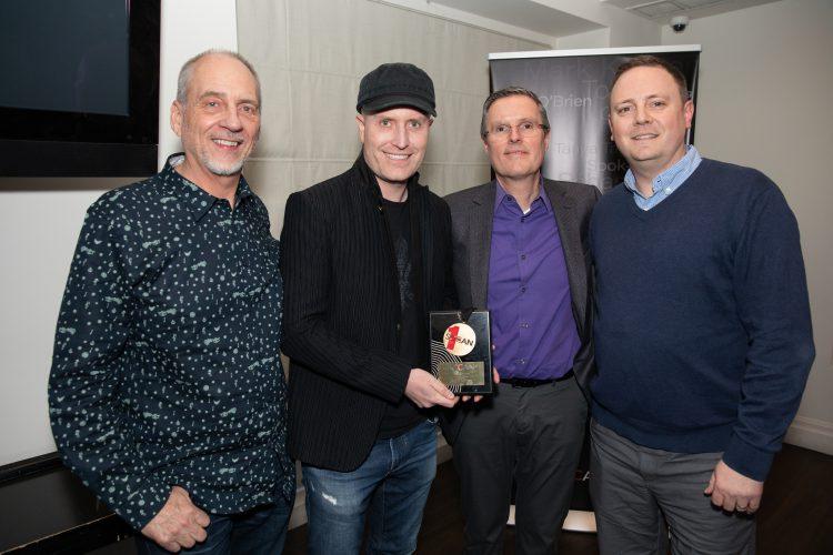 SOCAN, No. 1 Song Award, Michael McCarty. Andrew Lockington, Eric Baptiste, Daryl Hamilton