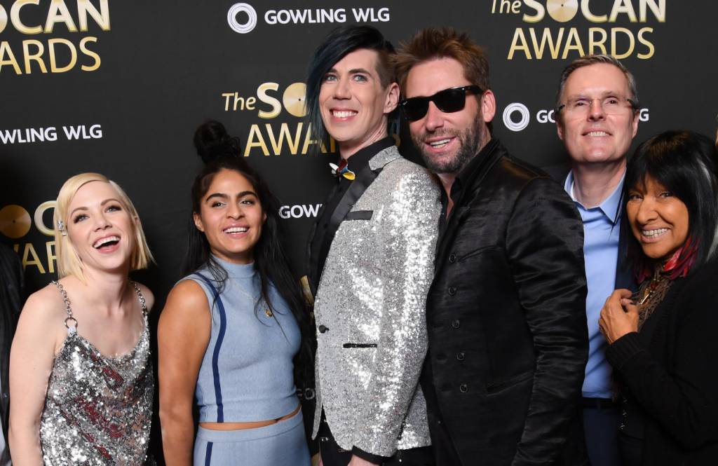 30th Anniversary SOCANs shimmer with songwriting, composing, music publishing success - SOCAN Words and Music