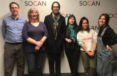 Big Wreck's Ian Thornley visits SOCAN Vancouver office