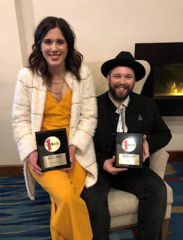 Fortunate Ones, SOCAN No. 1 Song Award, ECMAs 2019