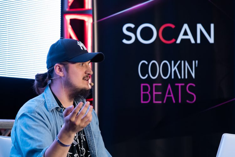 Lantz, Cooking Beats, SOCAN, CMW 2019