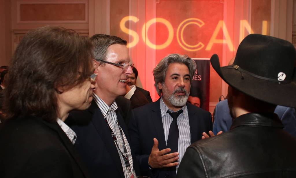 SOCAN brings sweet  music to Parliament Hill