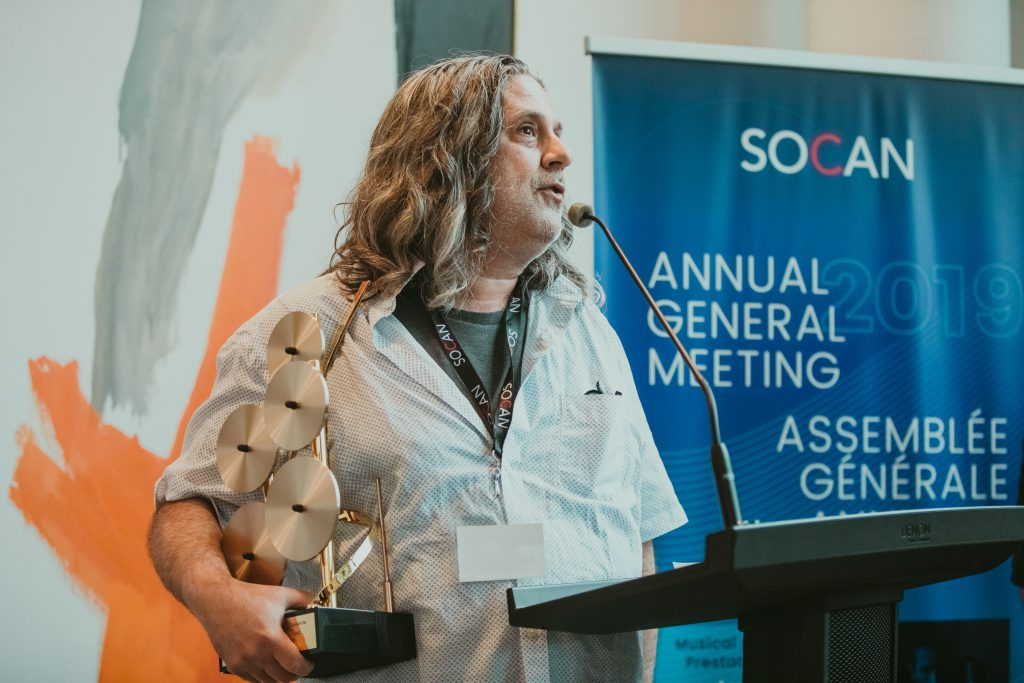 "Jonathan Simkin, SOCAN, AGM, 2019, Award, ""Call Me Maybe"", manager"