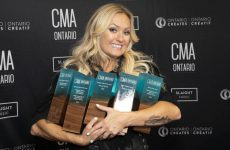 Meghan Patrick wins SOCAN honour, four others, at 2019 Ontario country music awards
