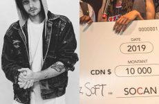 """grandson's poignant """"Blood//Water"""" captures the $10,000 SOCAN Songwriting Prize"""