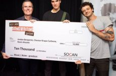 "Grandson, co-writers receive $10,000, other prizes, for ""Blood/Water"""