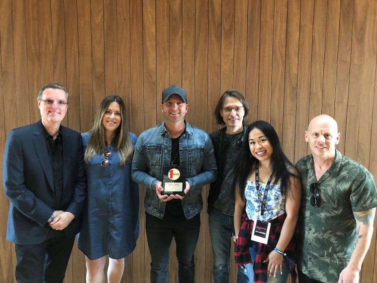 Tim Hicks, SOCAN, No. 1 Song Awards, CCMAs, 2019