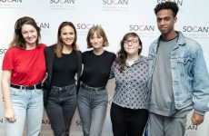 SOCAN Foundation 2019 Young Canadian Songwriters Award winners play at SOCAN