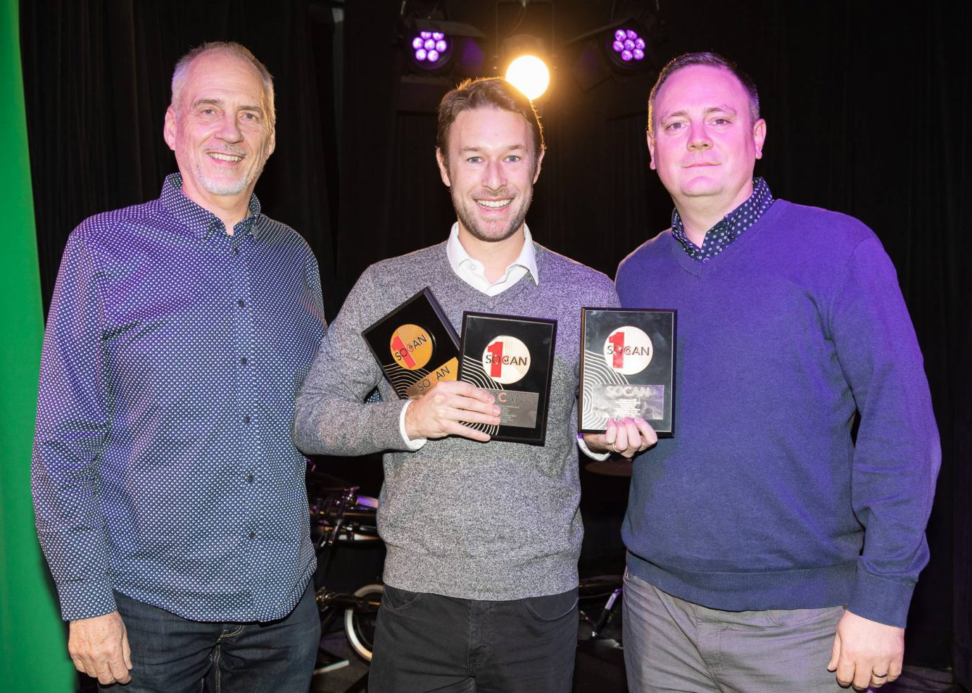 SOCAN, No. 1 Songs, awards, publishers, Adam Nathanson, Anthem Entertainment