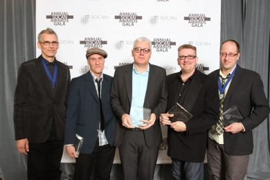 Spirit of the West, John Mann, 2010 SOCAN Awards