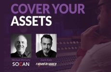 "SOCAN's Michael McCarty to take part in ""Cover Your Assets"" webinar"