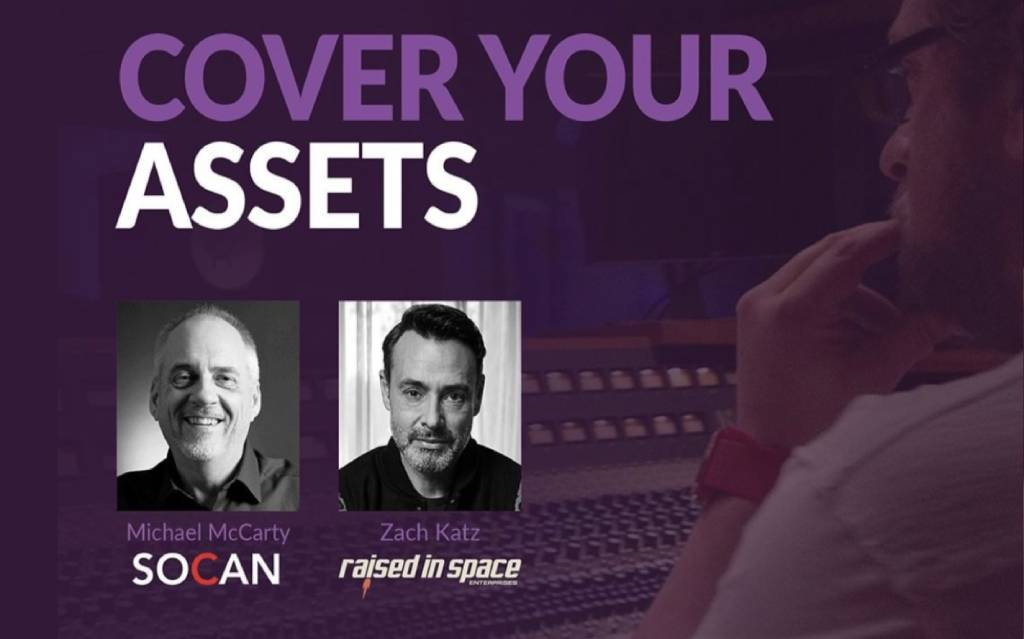 """SOCAN's Michael McCarty to take part in """"Cover Your Assets"""" webinar"""
