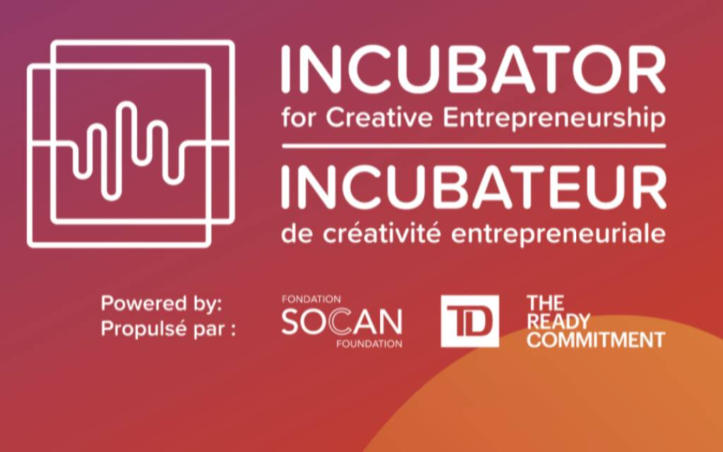 Apply now for 2021 TD Incubator for Creative Entrepreneurship