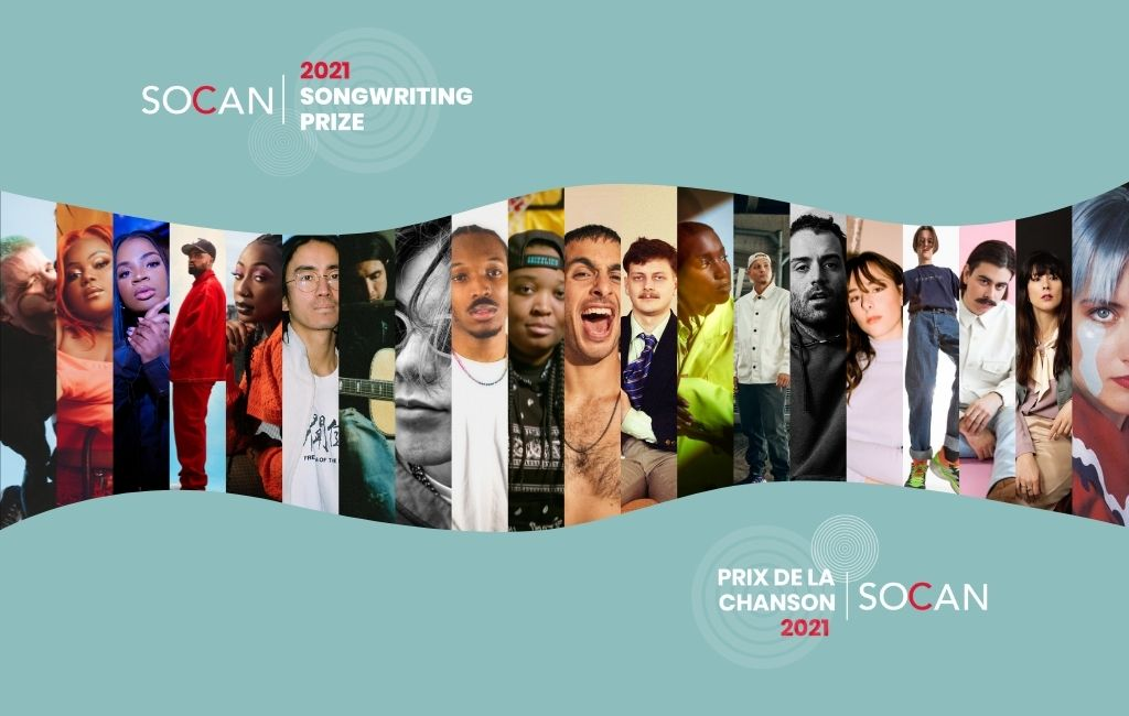 Vote now for SOCAN Songwriting Prize 2021 finalists!