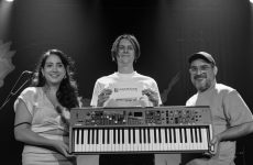 SOCAN Songwriting Prize: Thierry Larose receives Yamaha keyboard and Long & McQuade gift card