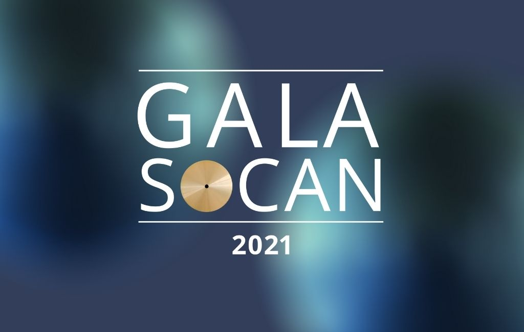 SOCAN Gala 2021 highlights achievements of Francophone songwriters, composers, publishers